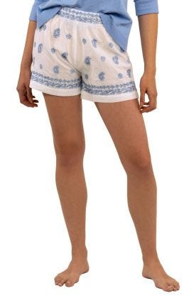 Dynasty Hand Embroidered Shorts