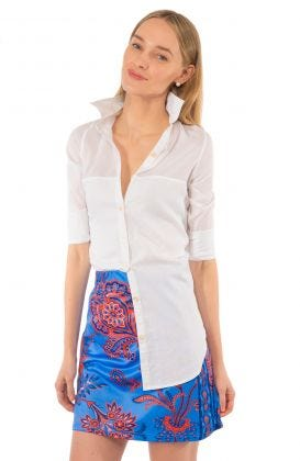 Cotton Shirt - Sleek Voile