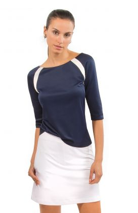 Jersey Tee Topper - Color Block