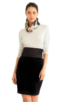 Pencil Skirt - Posh Velvet