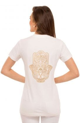 Cotton Short Sleeve Tee Shirt - Zen Lane