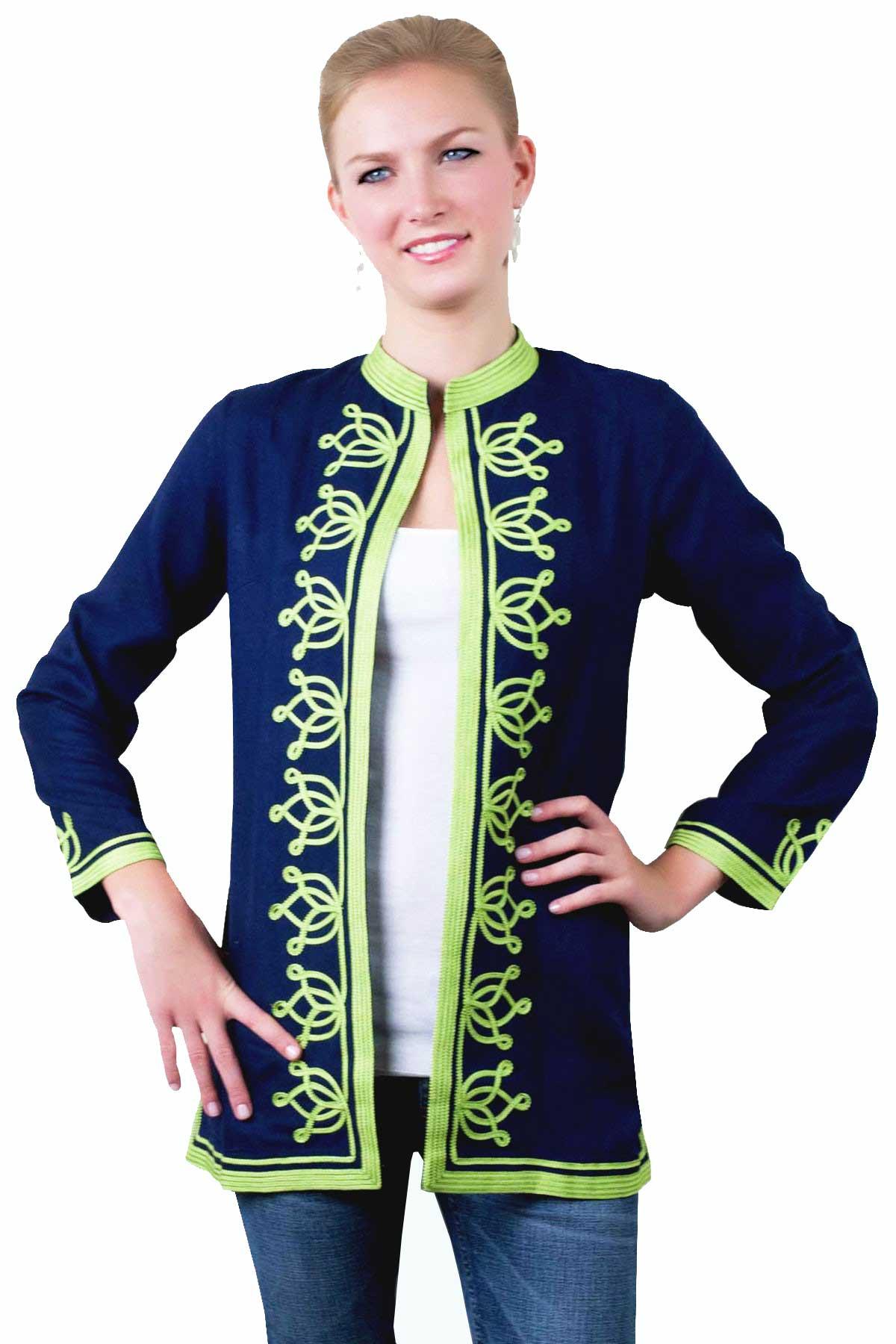 Pashmina Viscose Moroccan Jacket